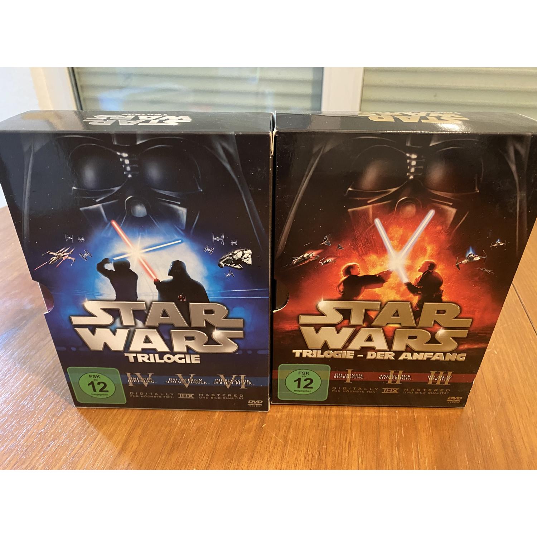 Star Wars 1-6 DVD's